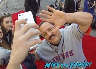 Paul Blart mall cop 2 movie premiere kevin james signing autographs 13