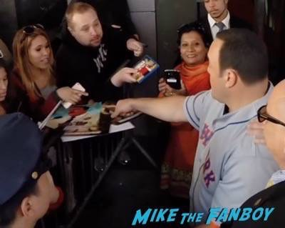 Paul Blart mall cop 2 movie premiere kevin james signing autographs 3