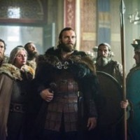 Princess Gisla (MORGANE POLANSKI) and Emperor Charles (LOTHAIRE BLUTEAU) vikings season 3 finale