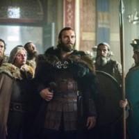 Princess Gisla (MORGANE POLANSKI) and Emperor Charles (LOTHAIRE BLUTEAU) vikings season 3 finale