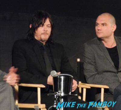 The Walking Dead FYC Q And A! Andrew Lincoln! Norman Reedus! Melissa McBride! Danai Gurira 35