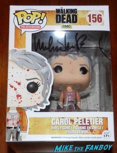 Melissa McBride signed pop vinyl carol the walking dead