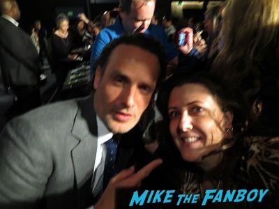 The Walking dead panel fyc 2015 andrew lincoln signed autograph norman reedus 1