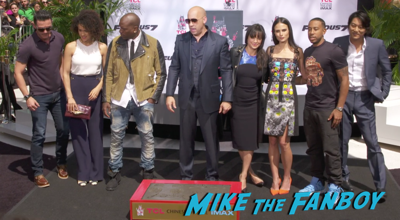 Vin Diesel hand and footprint ceremony chinese theater hollywood 10