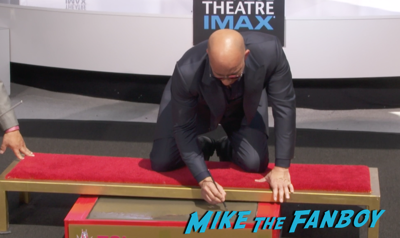 Vin Diesel hand and footprint ceremony chinese theater hollywood 5