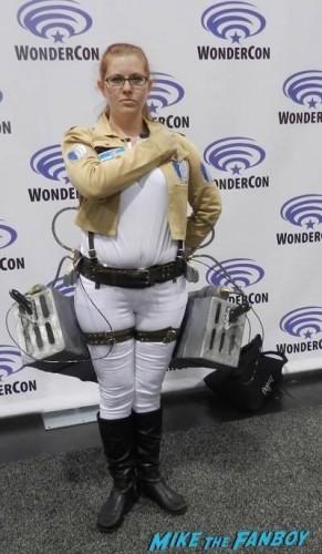 Wondercon 2015 Cosplay ash walking dead muppets 10