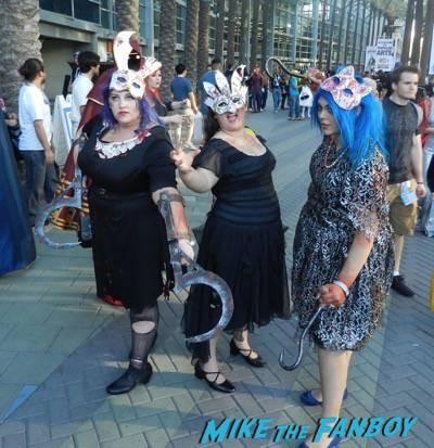 Wondercon 2015 Cosplay ash walking dead muppets 30