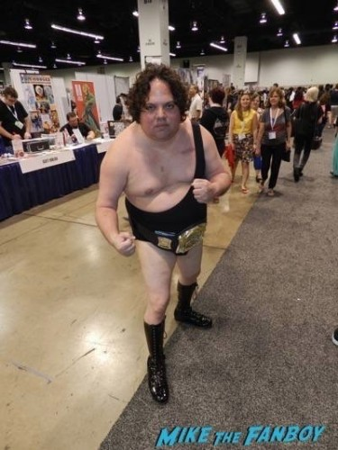 Wondercon cosplay 2015 andre the giant spawn 7