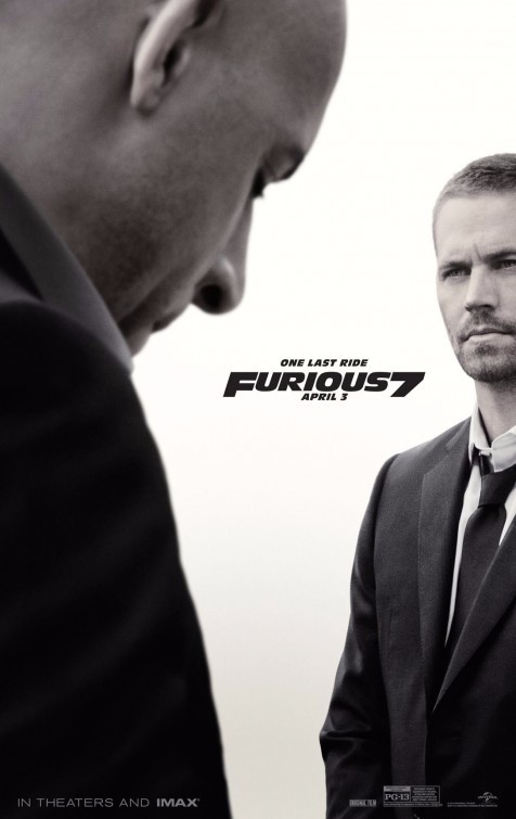 furious 7 seven movie poster