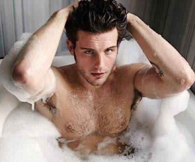 nico Tortorella shirtless naked muscle pecs