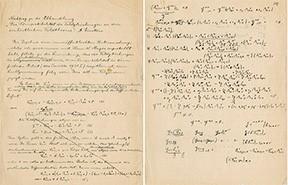 signed manuscript