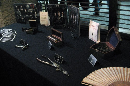 Some 'items' from the show