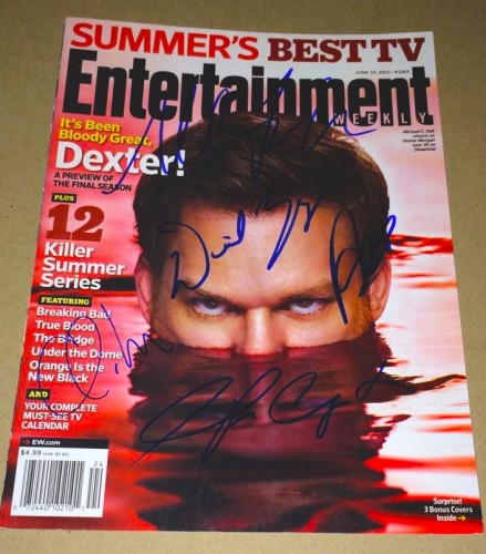 dexter magazine monday