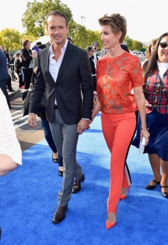 "The World Premiere Of Disney's ""Tomorrowland"" At Disneyland, Anaheim, CA - Red Carpet"