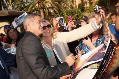 "The World Premiere Of Disney's ""Tomorrowland"" At Disneyland, Anaheim, CA - Red Carpet"