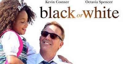 black or white poster