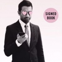 aziz ansari signed book