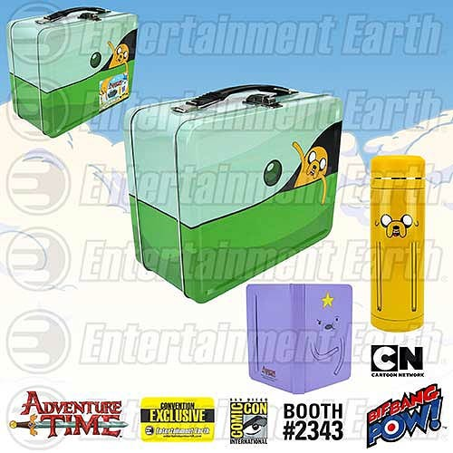 adventure time lunchbox and thermos