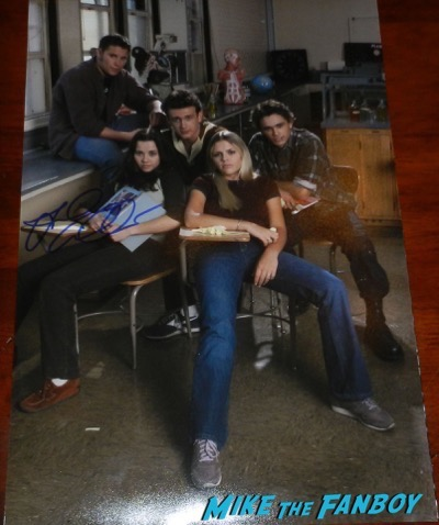 freaks and geeks cast signed poster