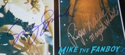 carrie cast signed poster