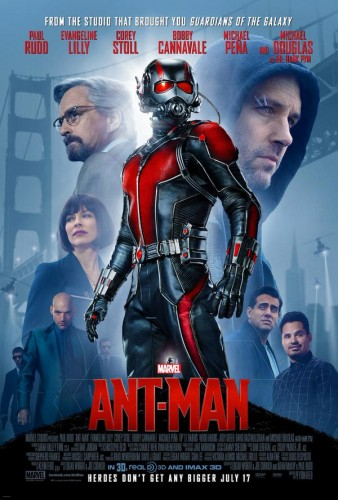 Ant-Man movie poster one sheetAnt-Man movie poster one sheet
