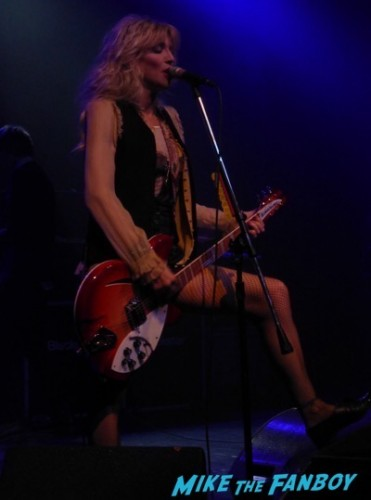 Courtney Love 2015 Los Angeles Concert Photo Gallery hole 1