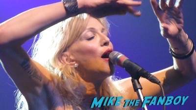 Courtney Love 2015 Los Angeles Concert Photo Gallery hole 11