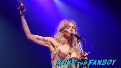 Courtney Love 2015 Los Angeles Concert Photo Gallery hole 12