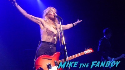 Courtney Love 2015 Los Angeles Concert Photo Gallery hole 15
