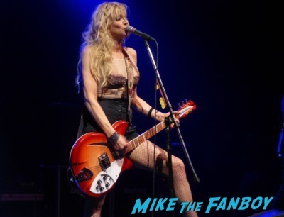 Courtney Love 2015 Los Angeles Concert Photo Gallery hole 17