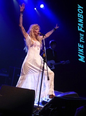 Courtney Love 2015 Los Angeles Concert Photo Gallery hole 19
