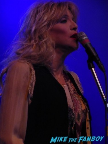 Courtney Love 2015 Los Angeles Concert Photo Gallery hole 2