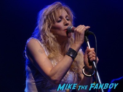 Courtney Love 2015 Los Angeles Concert Photo Gallery hole 20