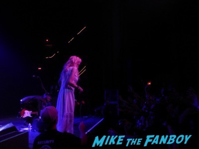 Courtney Love 2015 Los Angeles Concert Photo Gallery hole 21