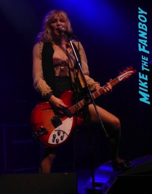 Courtney Love 2015 Los Angeles Concert Photo Gallery hole 3