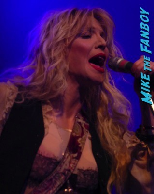 Courtney Love 2015 Los Angeles Concert Photo Gallery hole 4