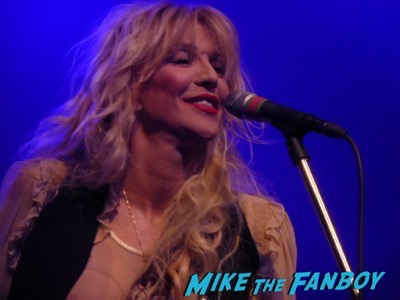 Courtney Love 2015 Los Angeles Concert Photo Gallery hole 5