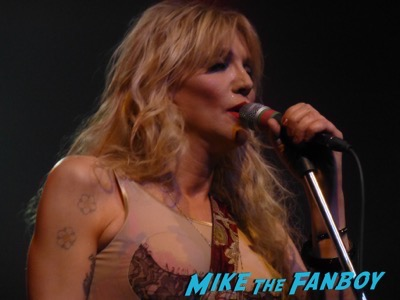 Courtney Love 2015 Los Angeles Concert Photo Gallery hole 7