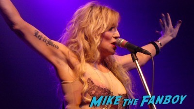 Courtney Love 2015 Los Angeles Concert Photo Gallery hole 9