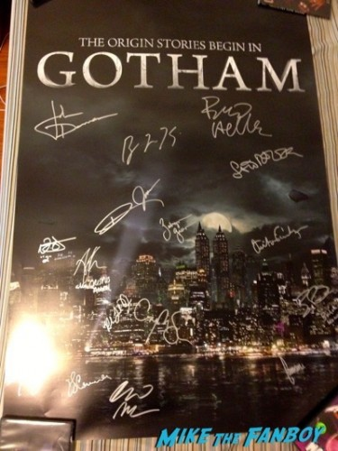 Gotham Golden Apple cast signing may 2015 1
