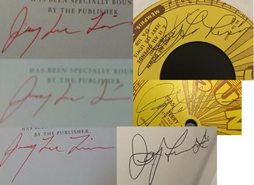 Jerry lee lewis fake autographs CompareNew