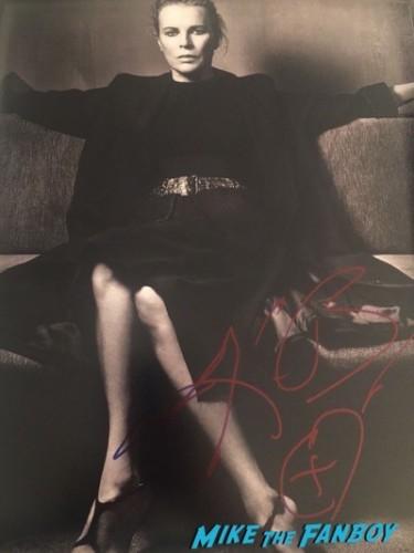 Kim Basinger signed autograph photo