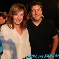 Allison Janney fan photo selfie MOM FYC q and a panel anna faris Allison Janney 23