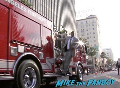 San Andreas Los Angeles Premiere The Rock carla gugino 7