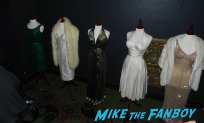 The Secret Life of Marilyn Monroe q and a  costumes and props