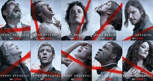 Penny Dreadful promo posters
