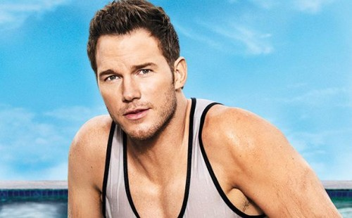 chris pratt wet shirtless entertainment weekly