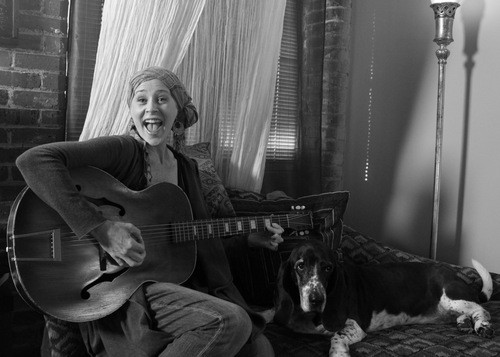 melissa mcbride with guitar