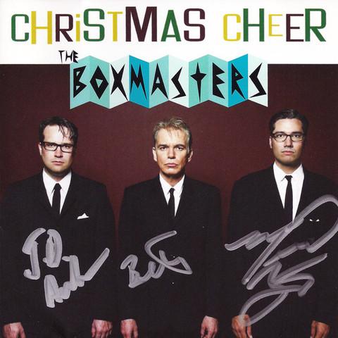 boxmasters signed cd
