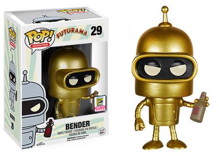 Pop! Animation: Futurama - Gold Bender